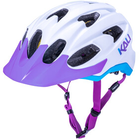Kali Pace SLD Helmet matt white/blue/purple